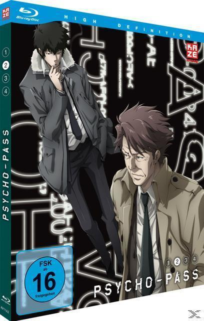 Psycho-Pass - Vol. 2 Episode 7-12 (BLU-RAY) für 39,99 Euro
