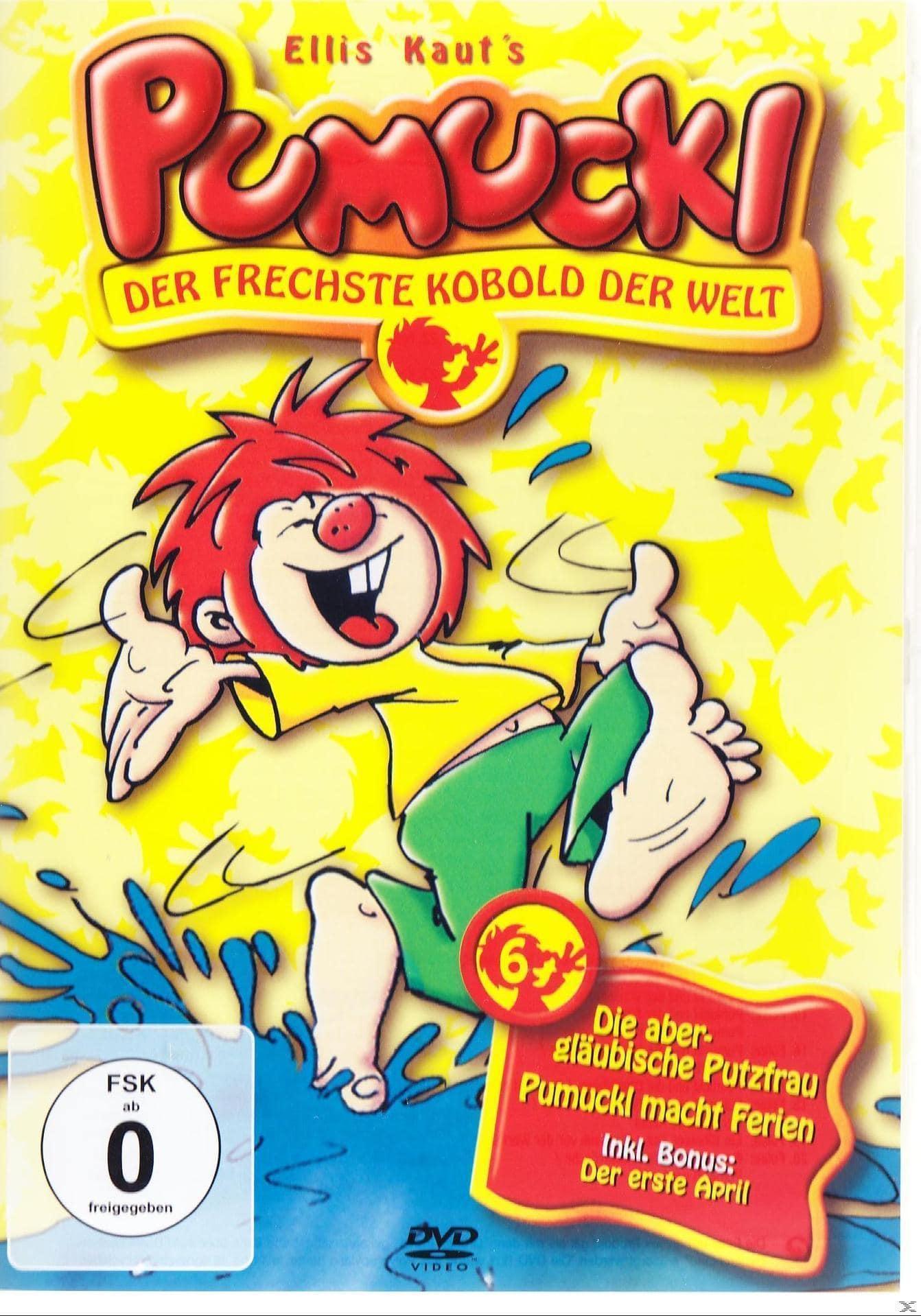 Pumuckl 6: Die abergläubische Putzfrau / Pumuckl macht Ferien (DVD) für 7,99 Euro