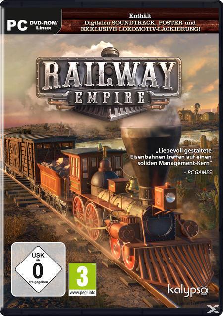 Railway Empire (PC) für 49,99 Euro