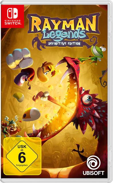 Rayman Legends - Definitive Edition (Nintendo Switch) für 30,00 Euro