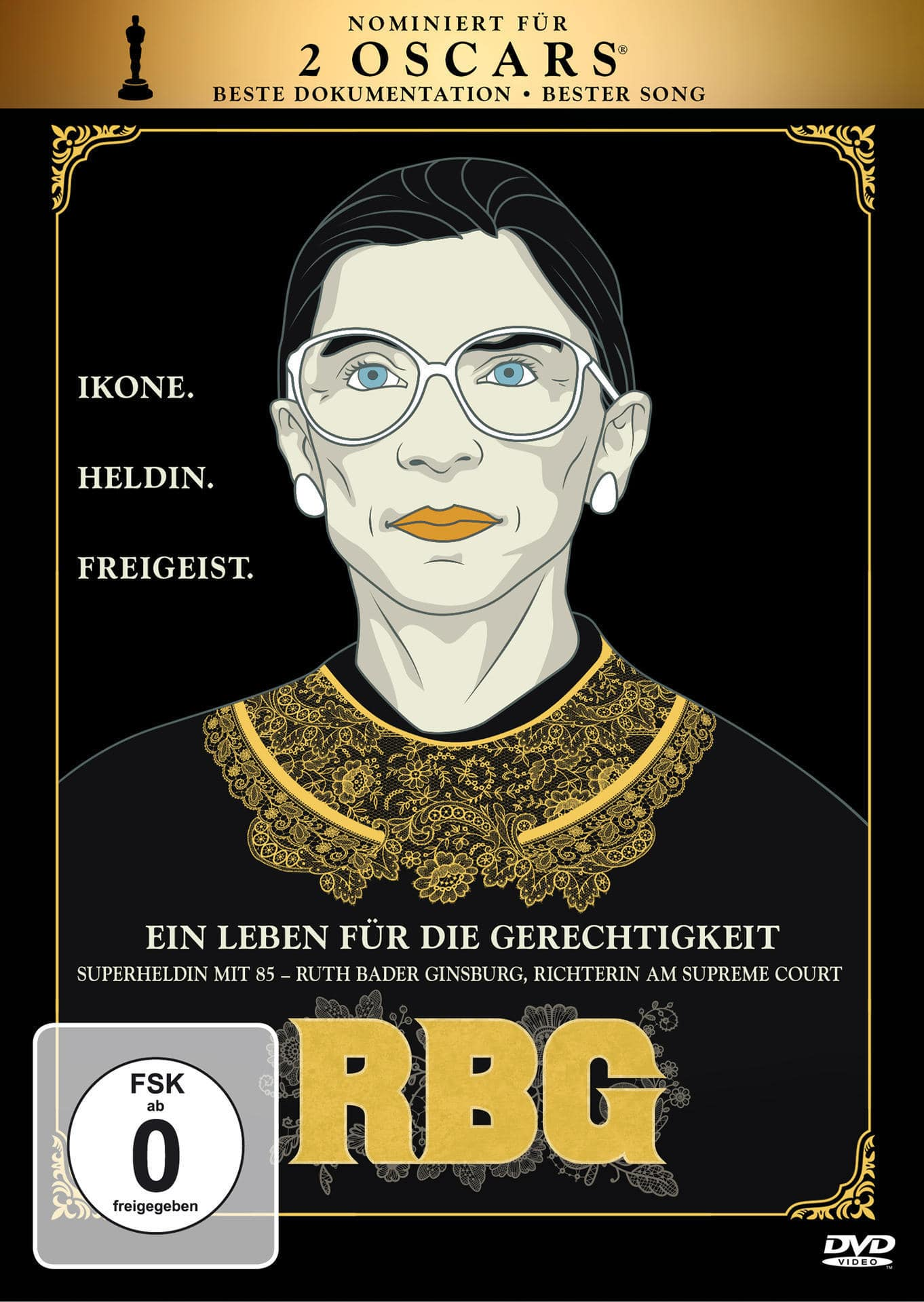 RBG - Ein Leben für die Gerechtigkeit (DVD) für 12,99 Euro
