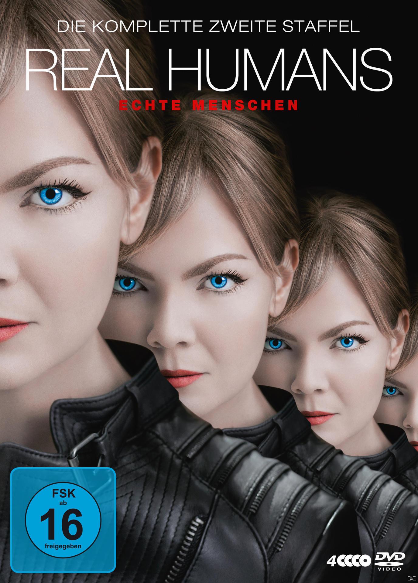 Real Humans - Echte Menschen - 2. Staffel DVD-Box (DVD) für 26,99 Euro