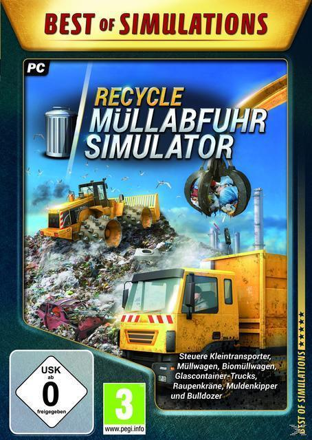 RECYCLE: Müllabfuhr-Simulator (Best of Simulations) (PC) für 9,99 Euro