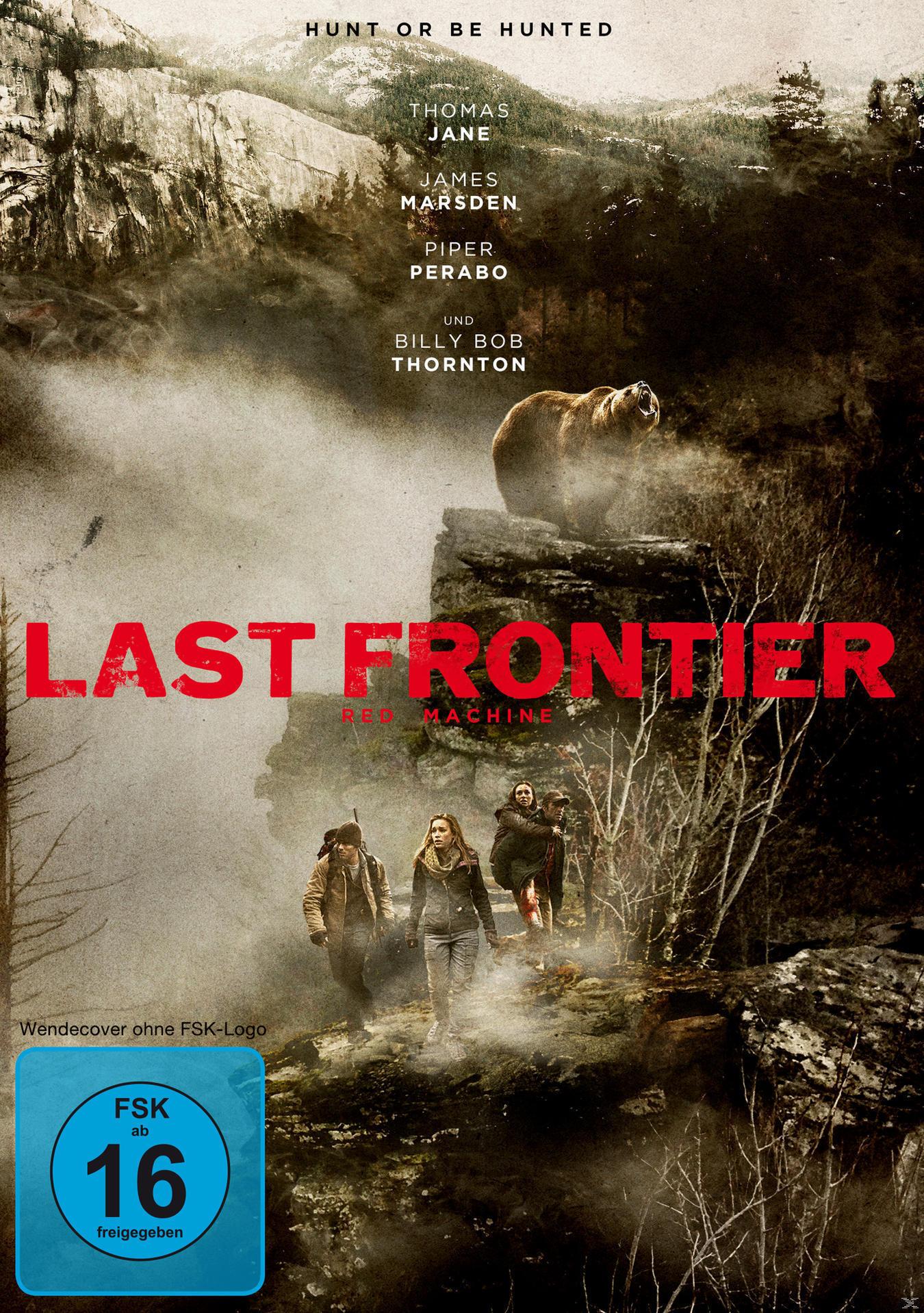 Red Machine / Last Frontier (DVD) für 6,99 Euro