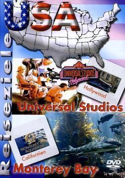 Reiseziele - USA - Universal Studios / Monterey Bay (DVD) für 6,81 Euro