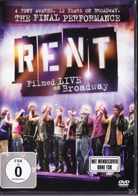 Rent: Filmed Live On Broadway (DVD) für 22,99 Euro
