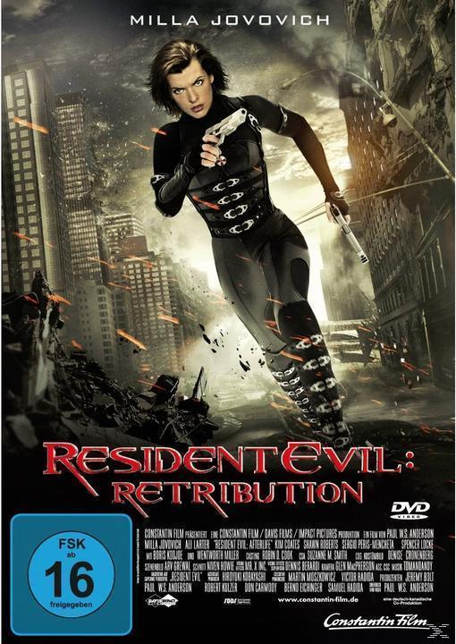 Resident Evil - Retribution (DVD) für 4,99 Euro