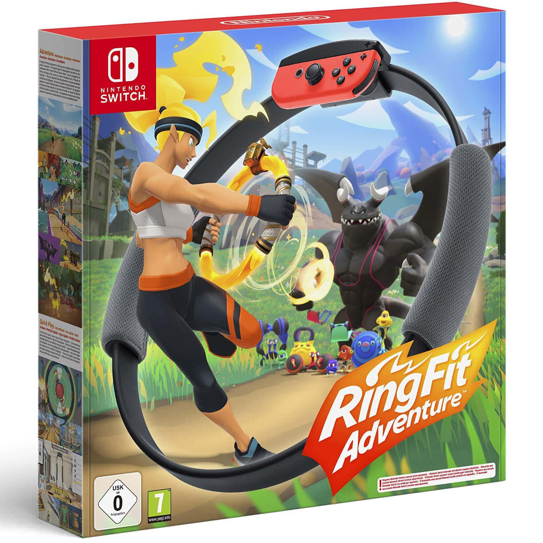 Ring Fit Adventure (Nintendo Switch) für 79,99 Euro