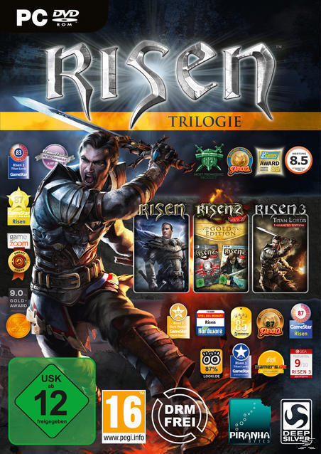 Risen Trilogie (PC) für 19,99 Euro
