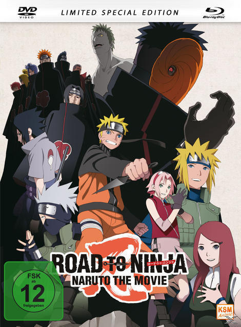 Road to Ninja: Naruto The Movie Mediabook (BLU-RAY + DVD) für 34,99 Euro