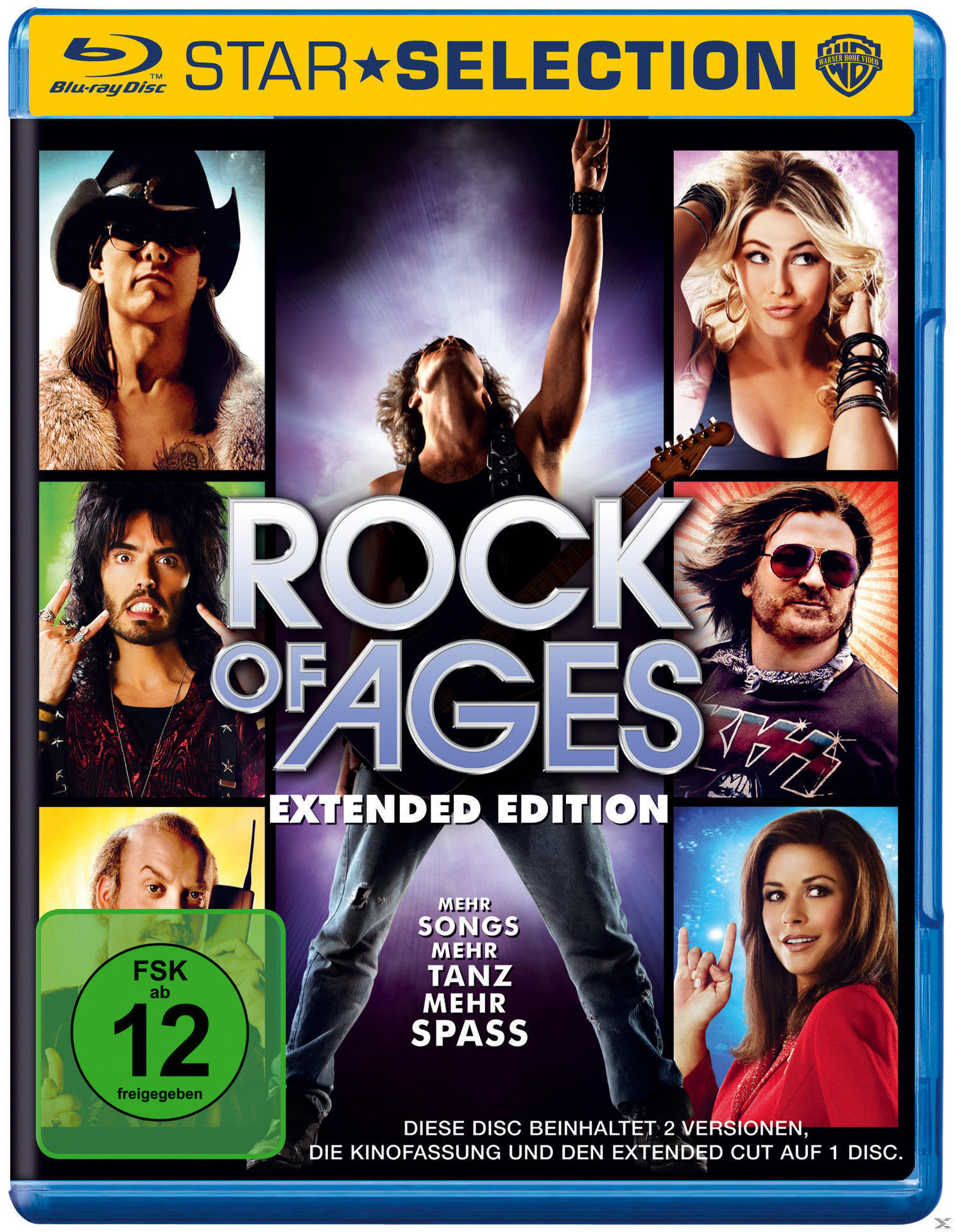 Rock of Ages Star Selection (BLU-RAY) für 7,99 Euro