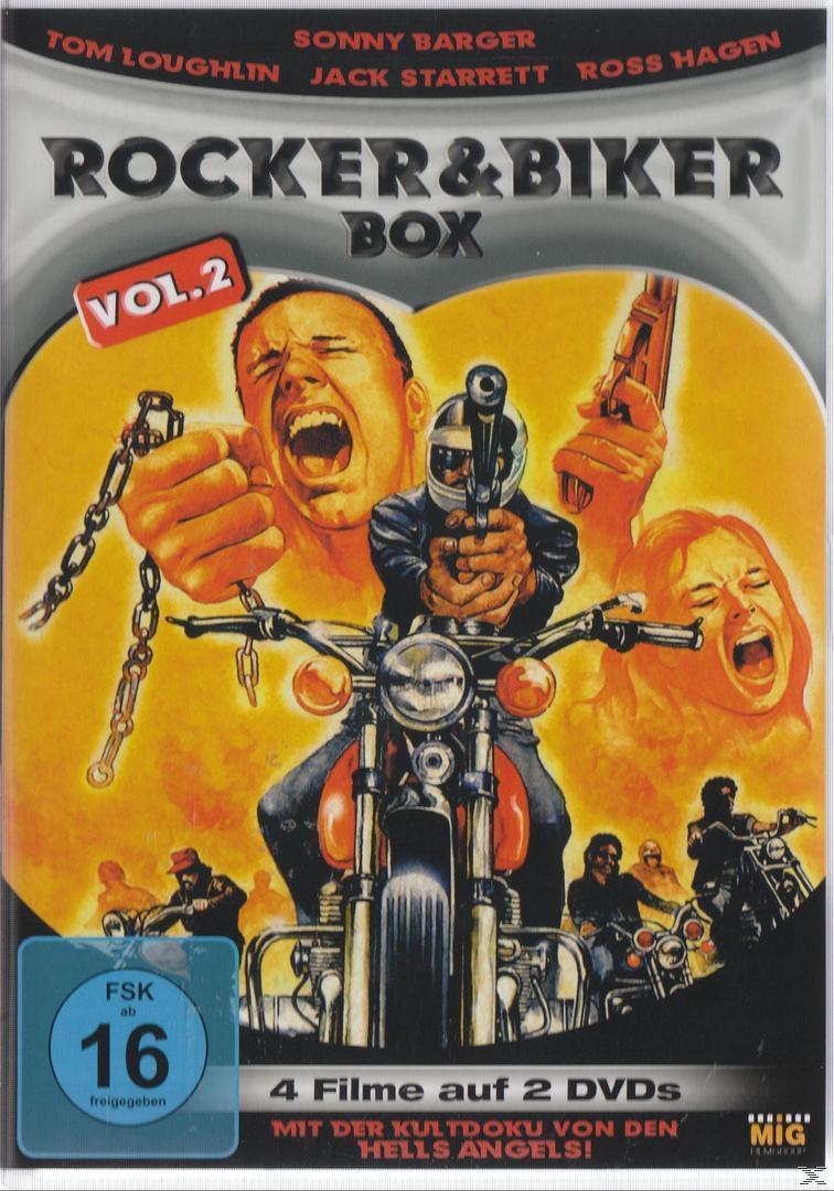Rocker und Biker Box Vol. 2 DVD-Box (DVD) für 9,74 Euro