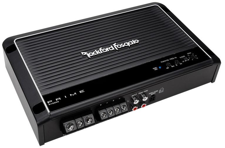 Rockford R150X2 Endstufe 2-Kanal 2x50/75W 1x150W für 159,00 Euro