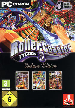 Rollercoaster Tycoon 3 - Deluxe Edition (Software Pyramide) (PC) für 10,00 Euro