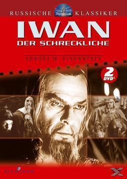 Russische Klassiker - Iwan der Schreckliche - Teil 1 & 2 (DVD) für 9,99 Euro