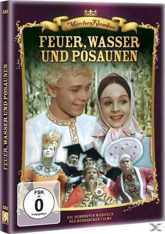 Russische Märchen: Feuer, Wasser und eherne Posaunen (DVD) für 9,99 Euro