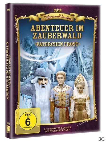 Russische Märchenklassiker: Väterchen Frost - Abenteuer im Zauberwald (DVD) für 7,99 Euro