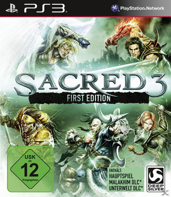 Sacred 3 First Edition (Playstation3) für 49,00 Euro