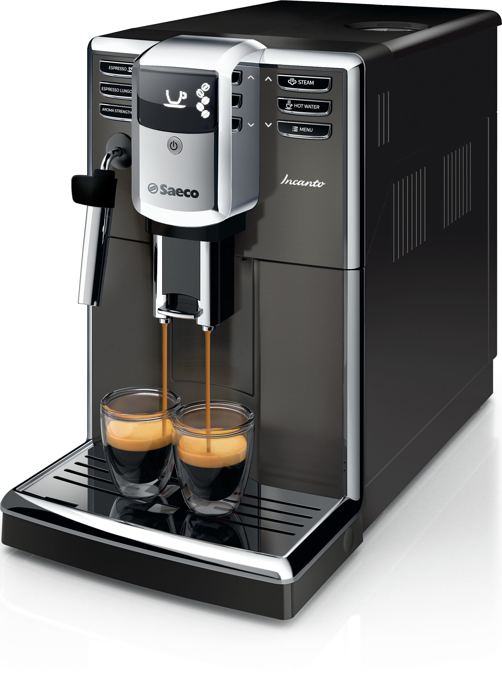 Saeco Incanto HD8913/11 Kaffeevollautomat 1,8l 250g Keramikmahlwerk für 545,00 Euro