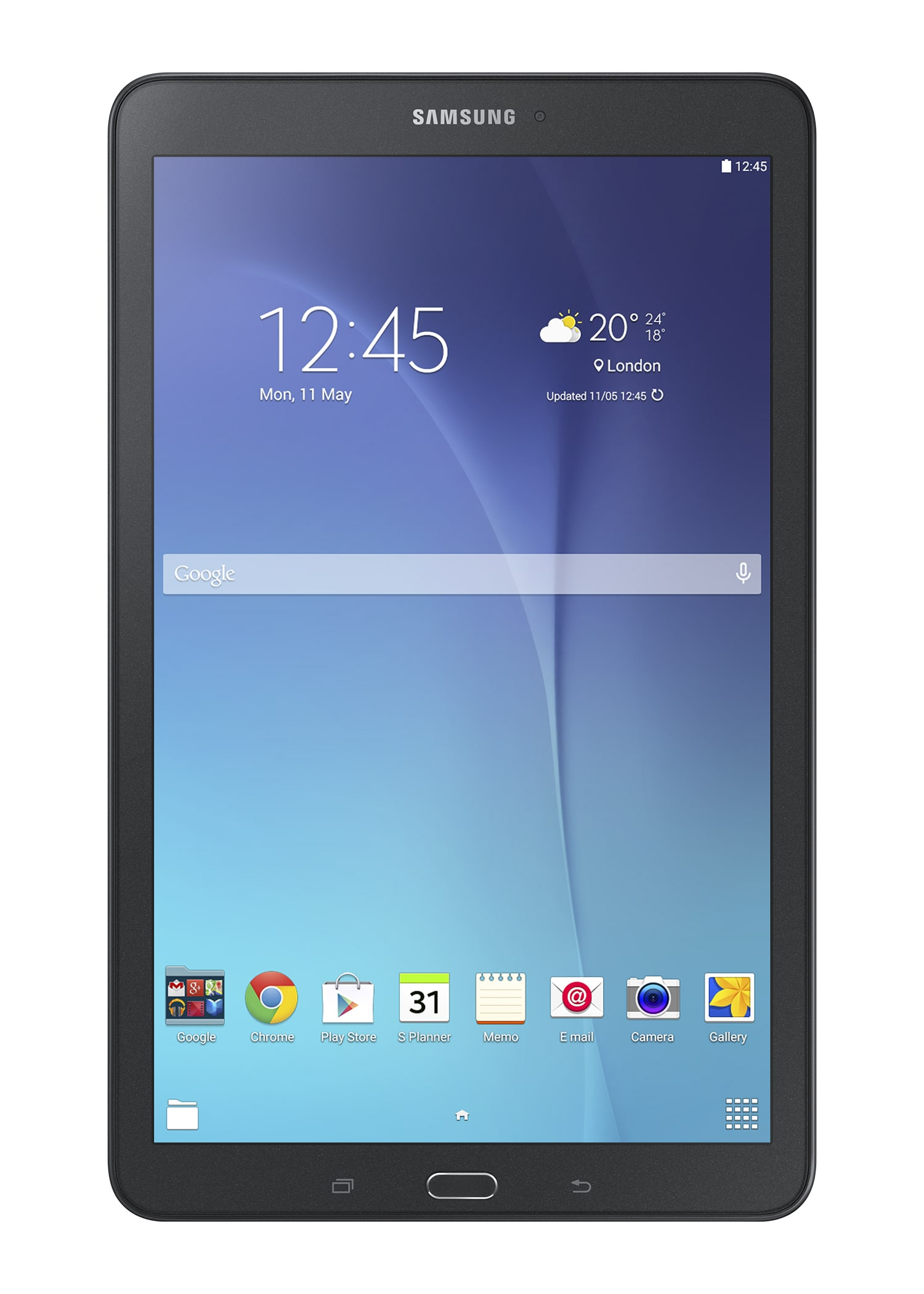 Samsung Galaxy Tab E SM-T560 Tablet 24,34cm/9,6'' 1,3GHz 5MP 8GB WLAN für 149,00 Euro