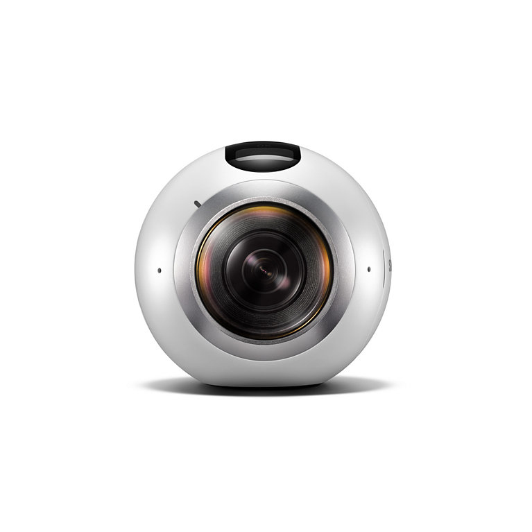 Samsung Kamera Gear 360 Wearable Cams 360°-Panorama-Videos und Fotos für 177,00 Euro