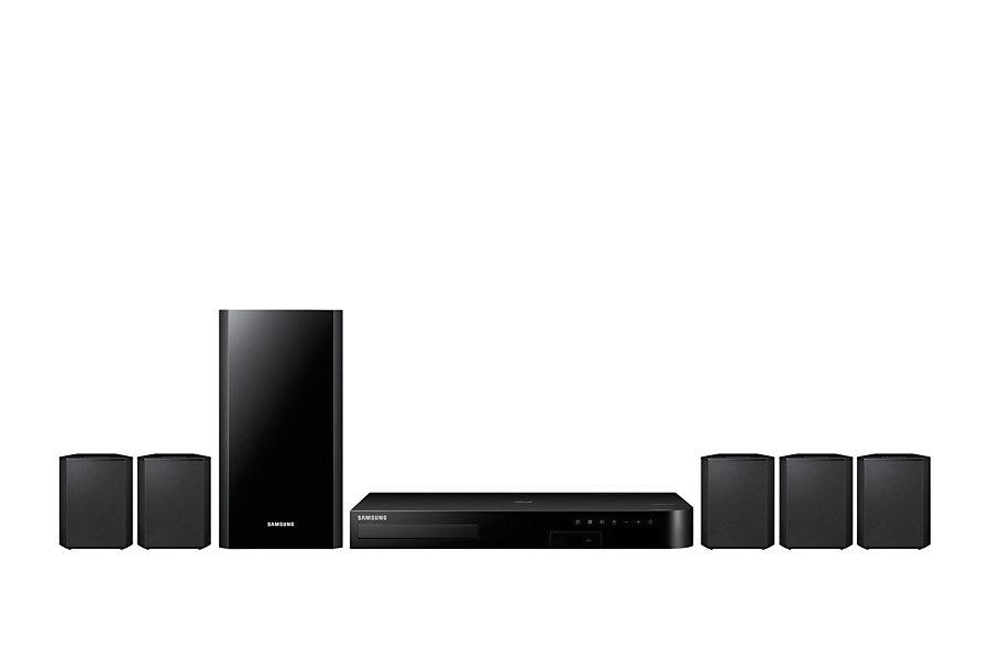 Samsung HT-J4500 5.1 Heimkinosystem 500W RMS 3D Blu-ray-Player WLAN für 179,99 Euro