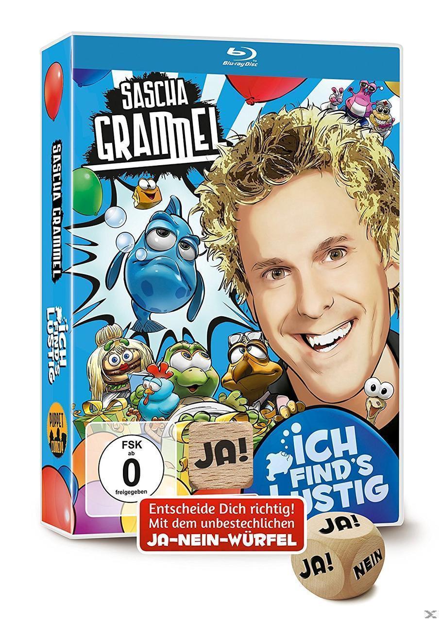 Sascha Grammel - Ich find's lustig (BLU-RAY) für 23,49 Euro