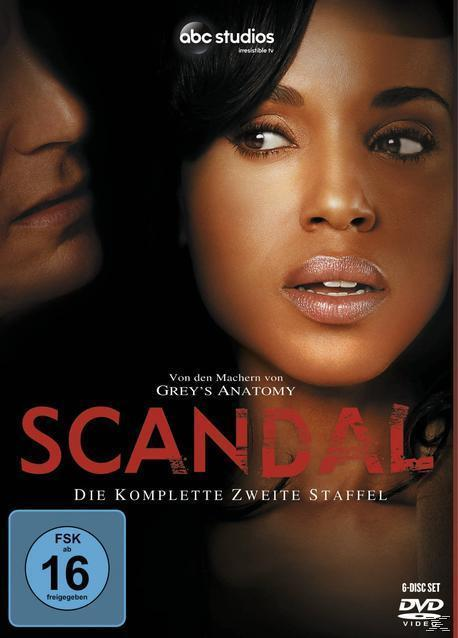 Scandal - Staffel 2 DVD-Box (DVD) für 13,99 Euro