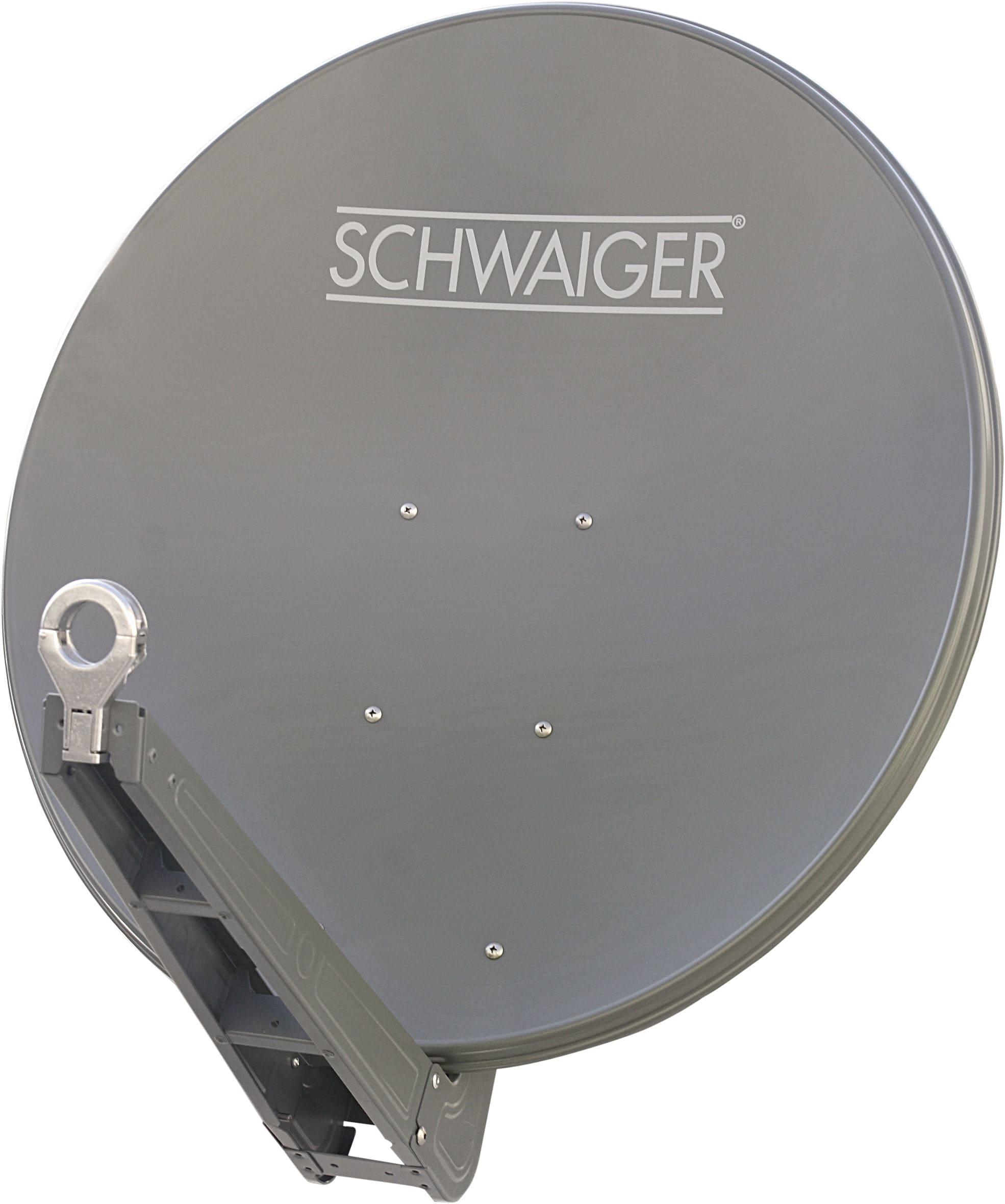 Schwaiger SPI085PA Satellitenantenne Alu-Spiegel 85cm Premiumklasse für 183,00 Euro