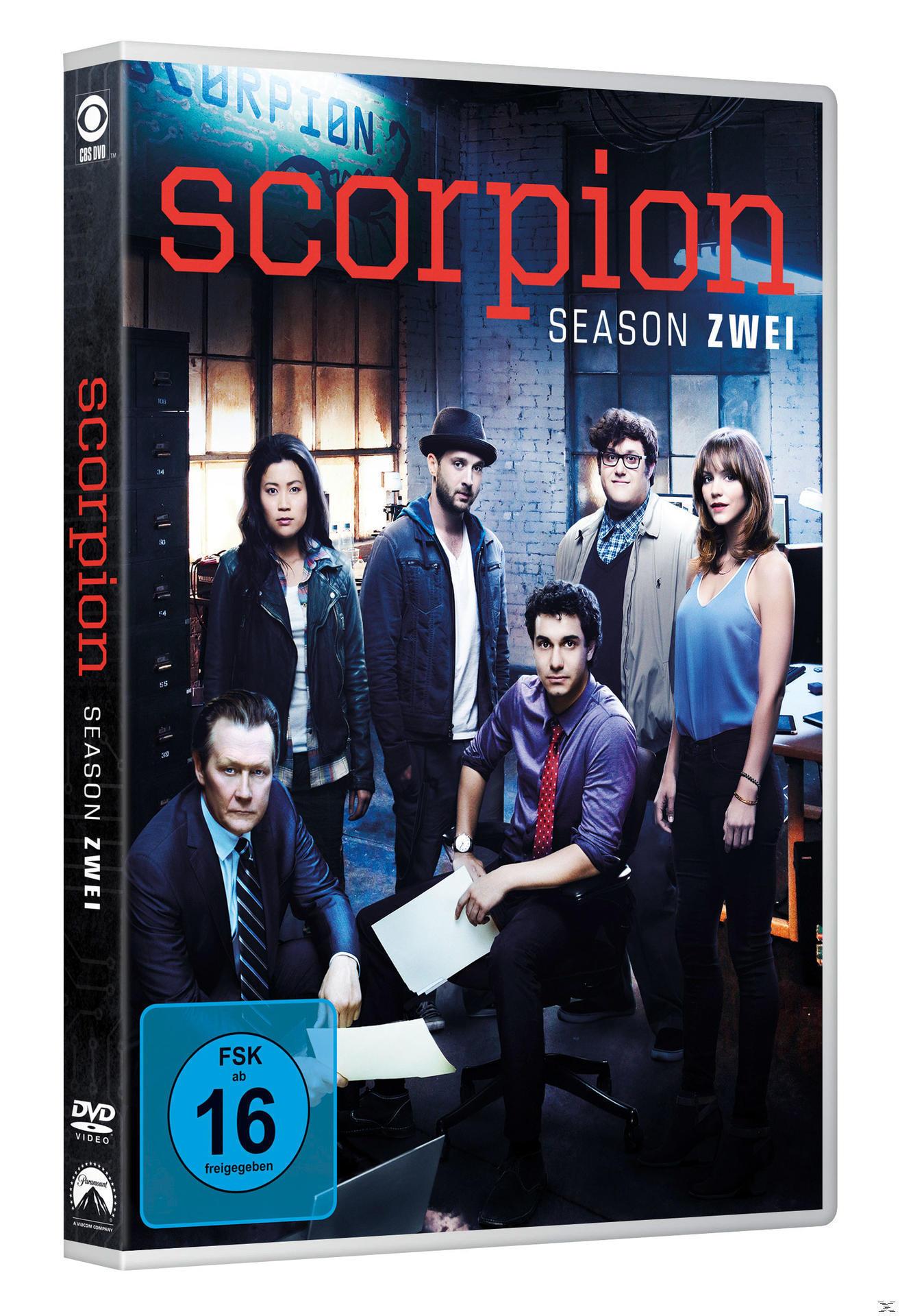 Scorpion - Staffel 2 DVD-Box (DVD) für 20,99 Euro