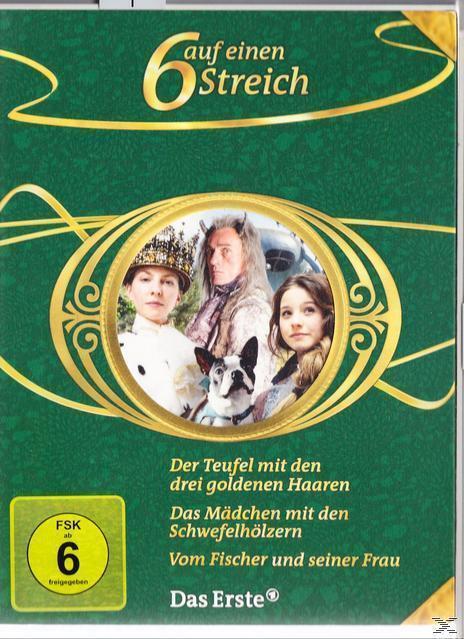 Sechs auf einen Streich - Märchenbox Vol. 10 DVD-Box (DVD) für 24,99 Euro