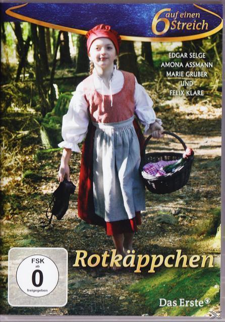 Sechs auf einen Streich: Rotkäppchen (DVD) für 9,99 Euro