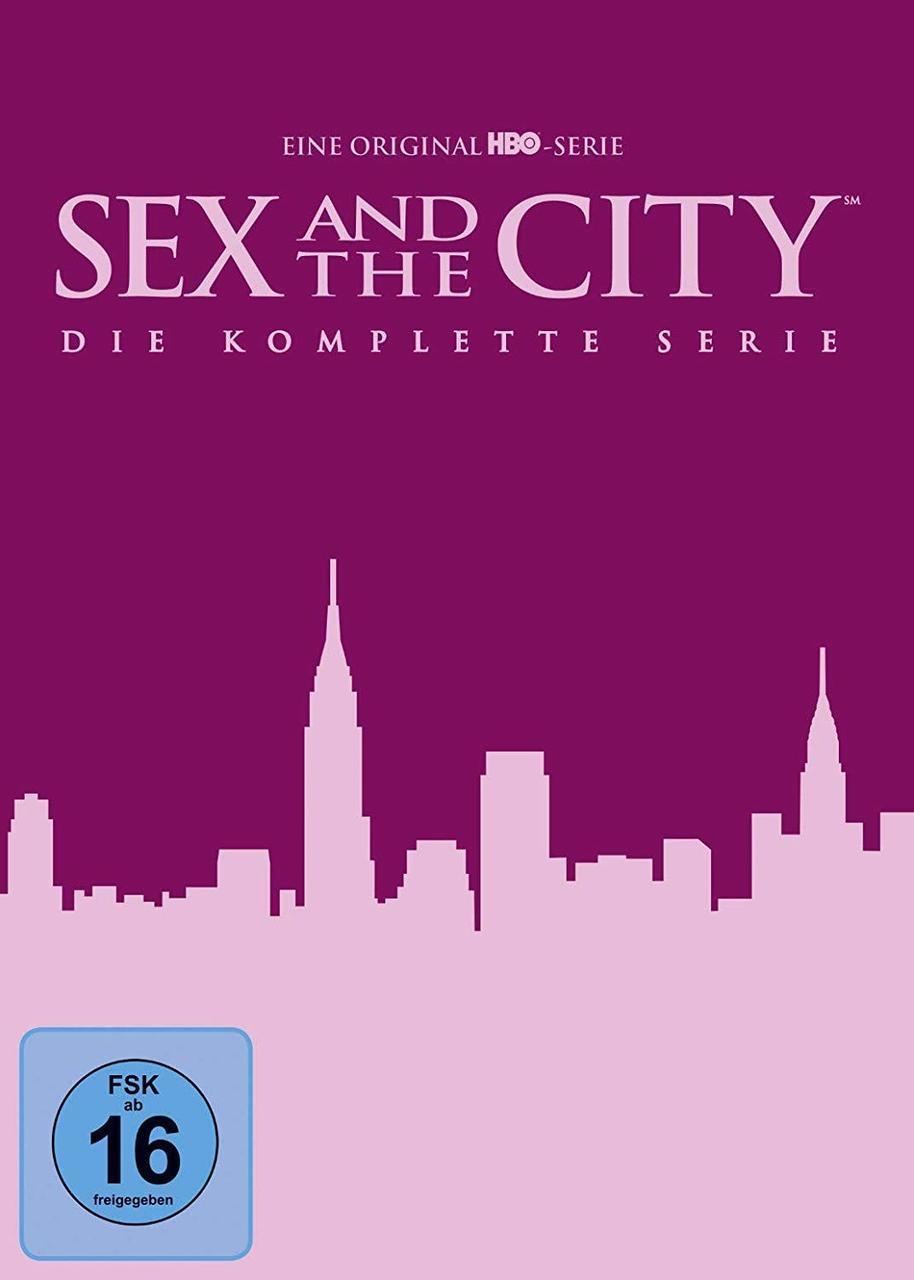 Sex and the City - Season 1-6 - Die komplette Serie DVD-Box (DVD) für 29,23 Euro