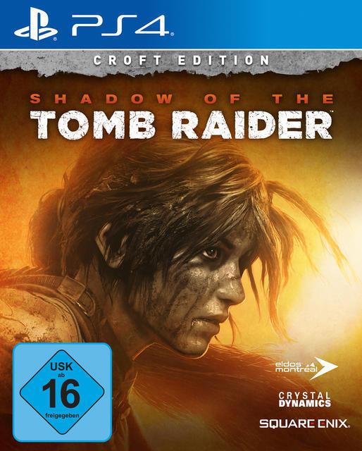 Shadow of the Tomb Raider Croft Edition (PlayStation 4) für 99,99 Euro