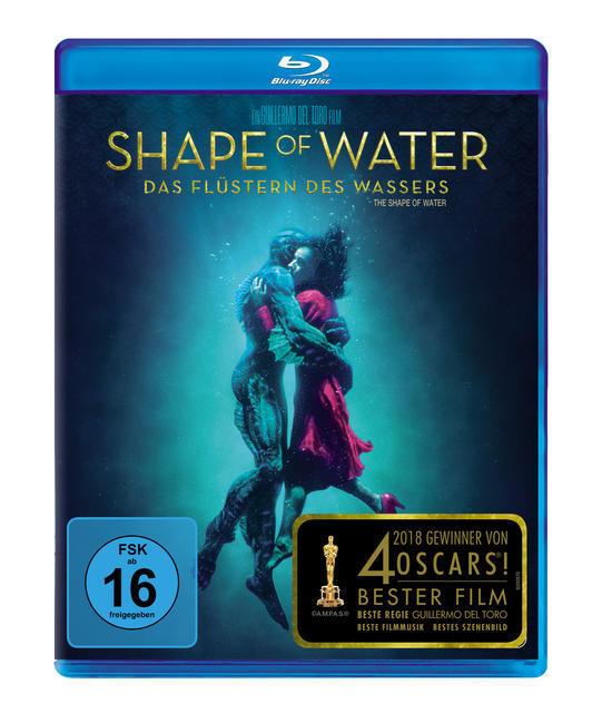 Shape of Water - Das Flüstern des Wassers (BLU-RAY) für 18,99 Euro