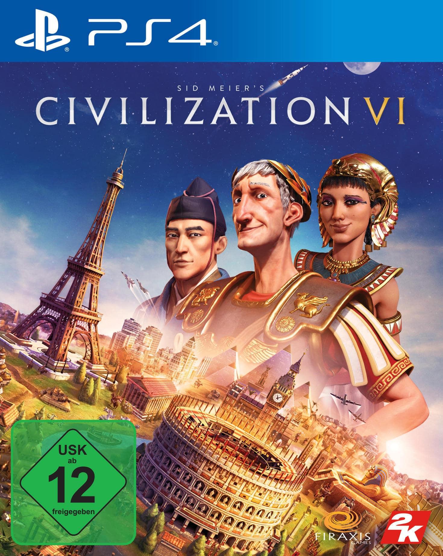 Sid Meier's Civilization VI (PlayStation 4) für 44,99 Euro