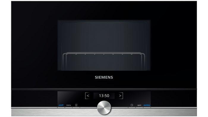 Siemens BE634RGS1 38cm Einbau-Mikrowelle 900W 21l cookControl touchControl für 579,00 Euro