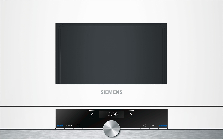 Siemens BF634LGW1 38cm Einbau-Mikrowelle 900W 21l cookControl touchControl für 531,00 Euro