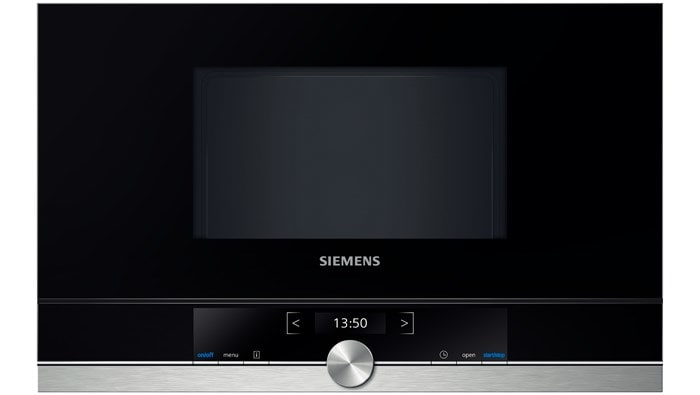Siemens BF634RGS1 38cm Einbau-Mikrowelle 900W 21l cookControl touchControl für 476,00 Euro