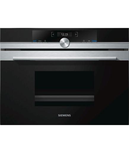 Siemens CD634GBS1 Kompakt-Dampfgarer 38l 30-100°C 1,3l cookControl Plus softMove für 989,00 Euro