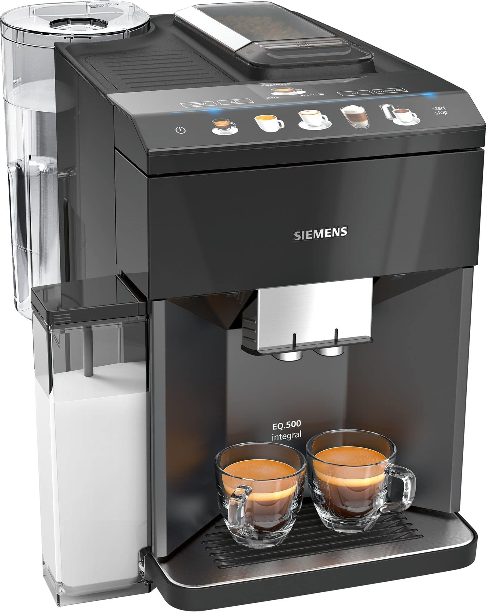 Siemens TQ505DF9 Kaffeevollautomat 15.0 bar 1,7l 270g coffeeSelect Display für 799,00 Euro