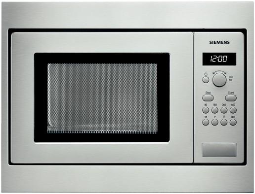 Siemens HF15M552 38cm Einbau-Mikrowelle 800W 17l 24,5cm Drehtür cookControl 7 für 359,00 Euro