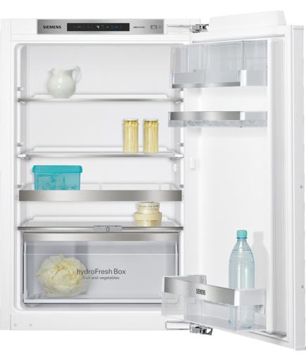 Siemens KI21RAD40 Einbau-Kühlschrank 144l A+++ 65kWh/Jahr 88cm Flachscharnier für 479,00 Euro