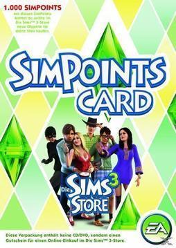 SimPoints Card (PC) für 6,99 Euro