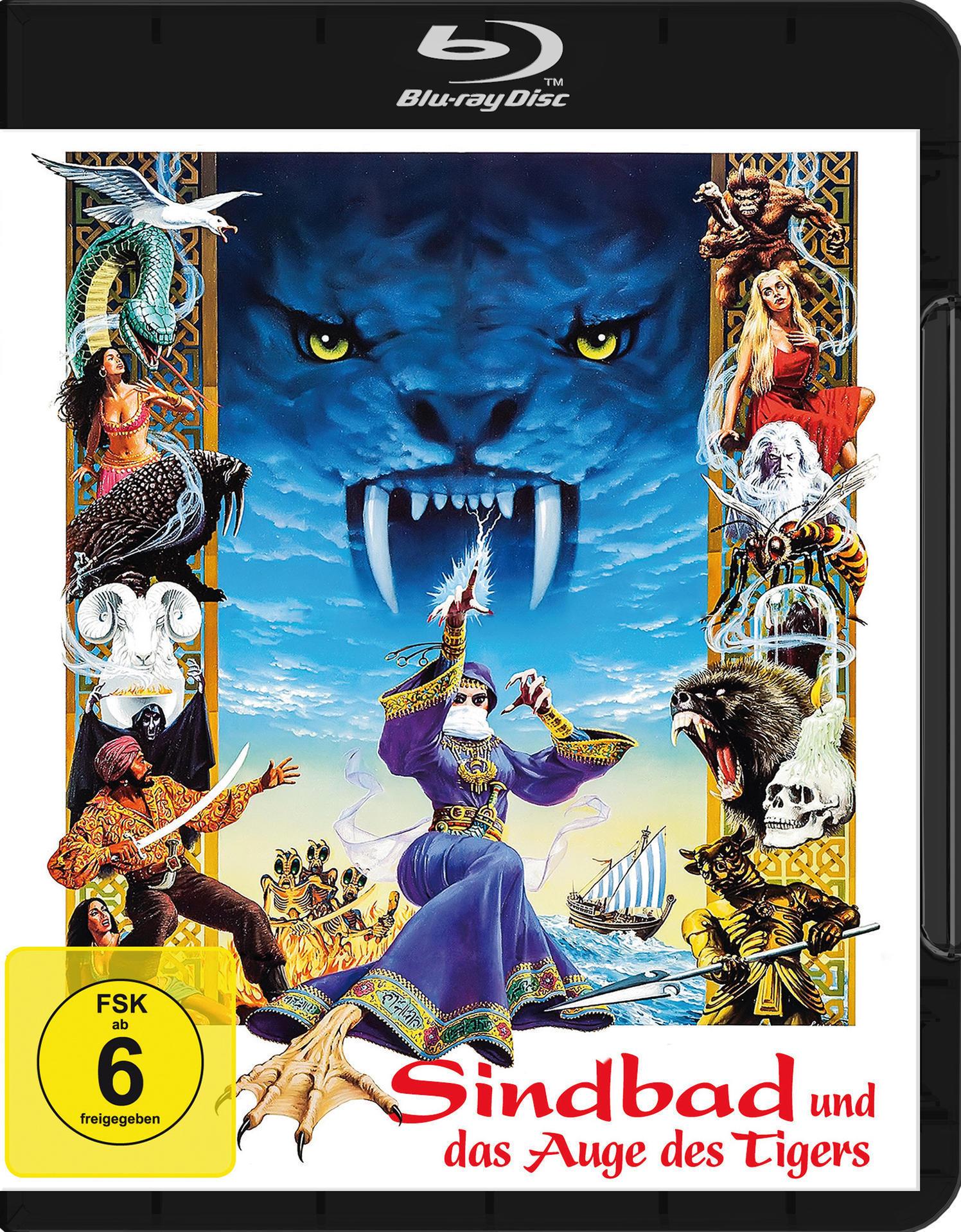 Sindbad und das Auge des Tigers (BLU-RAY) für 17,99 Euro