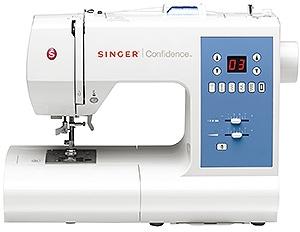 SINGER Confidence 7465 Computer-Nähmaschine 50 Nähprogramme und 2 Knopflochtypen für 349,00 Euro