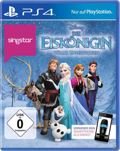 SingStar: Die Eiskönigin - Völlig unverfroren (PlayStation 4) für 19,99 Euro