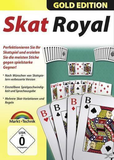 Skat Royal Gold Edition (PC) für 12,99 Euro