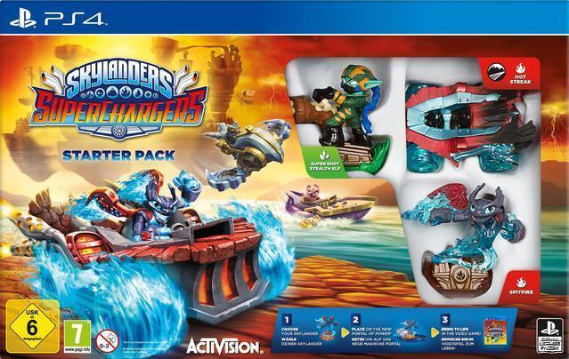 Skylanders SuperChargers: Starter Pack (PlayStation 4) für 26,99 Euro