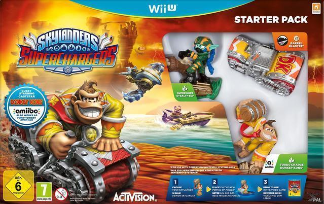 Skylanders SuperChargers: Starter Pack (Nintendo Wii U) für 17,99 Euro